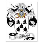 Mosquera Coat of Arms Small Poster