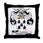 Mosquera Coat of Arms Throw Pillow