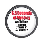Tower 7 Mystery Wall Clock