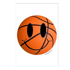 Basketball Smiley Postcards (Package of 8)