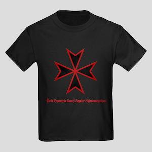 Temple Knight Kids Dark T-Shirt