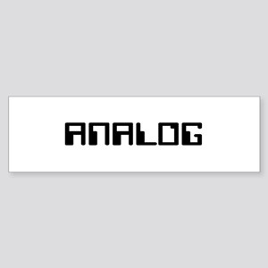 ANALOG Bumper Sticker