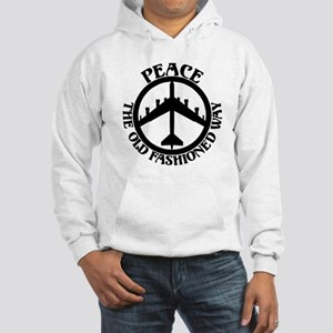 B-52 Peace the Old Fashioned Way Hooded Sweatshirt