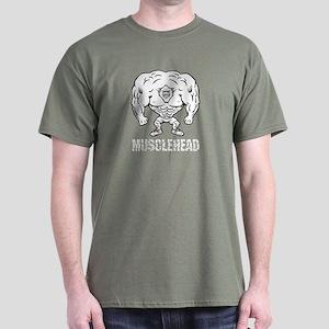 Musclehead Dark T-Shirt