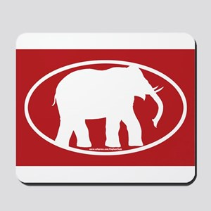 Red Elephant Mousepad