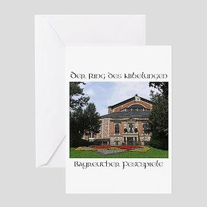 Bayreuth Ring Cycle Greeting Card