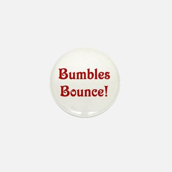 Cute Bumbles bounce Mini Button