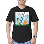 Ladder Lashing Men's Fitted T-Shirt (dark)