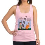 Ladder Lashing Racerback Tank Top