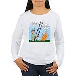 Ladder Lashing Women's Long Sleeve T-Shirt