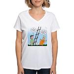 Ladder Lashing Women's V-Neck T-Shirt