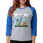 Ladder Lashing Womens Baseball Tee