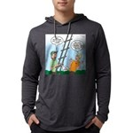 Ladder Lashing Mens Hooded Shirt