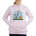 Ladder Lashing Women's Hooded Sweatshirt