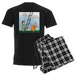 Ladder Lashing Men's Dark Pajamas