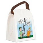 Ladder Lashing Canvas Lunch Bag