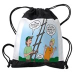 Ladder Lashing Drawstring Bag