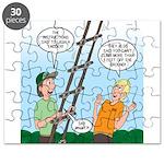 Ladder Lashing Puzzle
