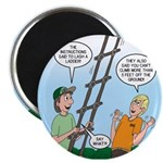 "Ladder Lashing 2.25"" Magnet (10 pack)"
