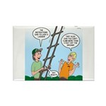 Ladder Lashing Rectangle Magnet (10 pack)