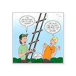 Ladder Lashing Square Sticker 3