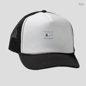 bedeb54344579 I  39 m Kind Of An Odd Duck Kids Trucker hat