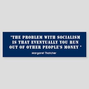 Anti Socialism Bumper Sticker