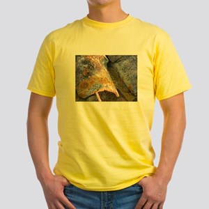 lichen covered roof Yellow T-Shirt