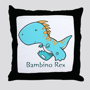 Bambino Rex Throw Pillow