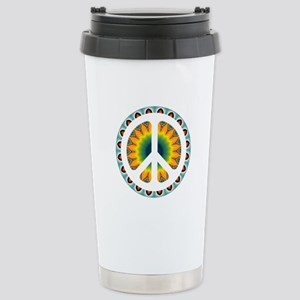 CND Psychedelic5 Stainless Steel Travel Mug