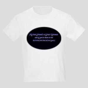 My Best Friend's A Pyr Kids Light T-Shirt