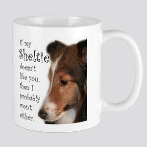 Friendly Sheltie Mug