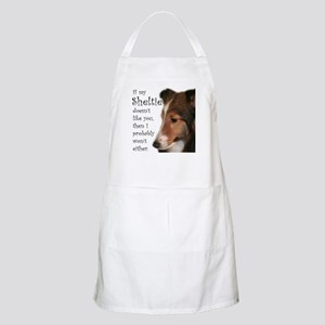 Friendly Sheltie BBQ Apron