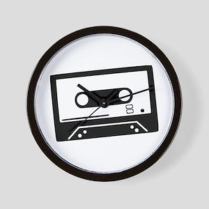 Tape - Music Wall Clock