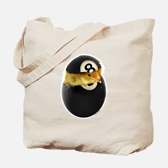 Billiards Chick Tote Bag