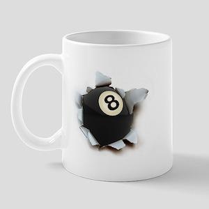 Billiards Burster Mug