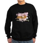 Wishful Kawaii Corgi Sweatshirt (dark)