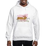 Wishful Kawaii Corgi Hooded Sweatshirt
