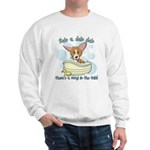 Bathtime Corgi Sweatshirt