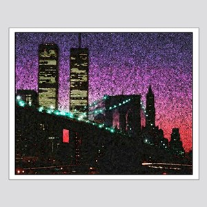 Twin Towers, New York City 16X20 Poster