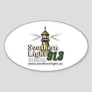 Southern Light Oval Sticker