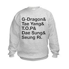 Big Bang (B) Kids Sweatshirt