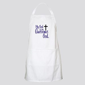 Awesome God BBQ Apron