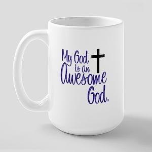 Awesome God Large Mug