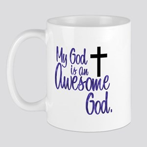 Awesome God Mug