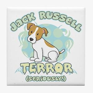 Jack Russell Terror Tile Coaster