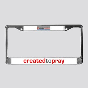 Mission Manitou License Plate Frame