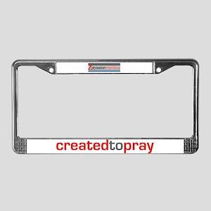Mission Manitou License Plate Frame