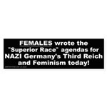 Superior Race (Bumper Sticker)