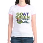 GOat Green Jr. Ringer T-Shirt